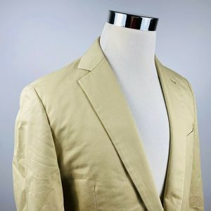 Brooks Brothers 40R Fitzgerald Sport Coat Beige